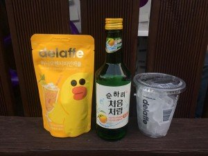 Cocktail soju